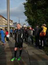 Photo: Voor de wedstrijd van de 10 km.