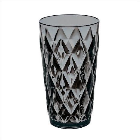 CRYSTAL L, Glas, Transparent Grey 6-pack
