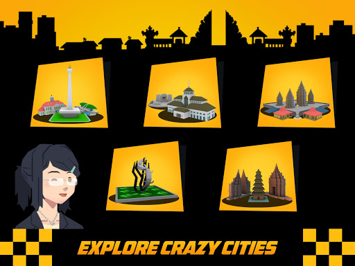 Crazy Traffic Taxi screenshot