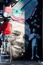 Photo: Anybody saw my tie?  My contribution to #streetartsunday by +Luís Pedro+Peter Tsai+Mark Seymour  (Arles)