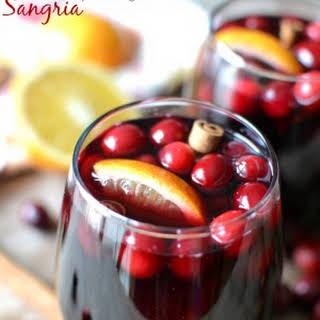 Mulled Cranberry-Orange Sangria.