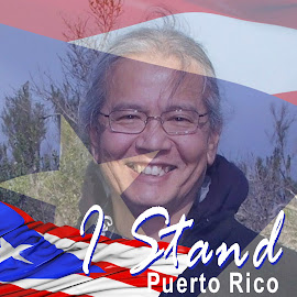 I Stand by Charlie Alolkoy - Typography Captioned Photos ( carribean, patriotic, puerto, rico, country )