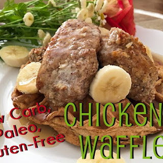 Paleo, Gluten-Free, Low Carb Chicken N' Waffles! Recipe