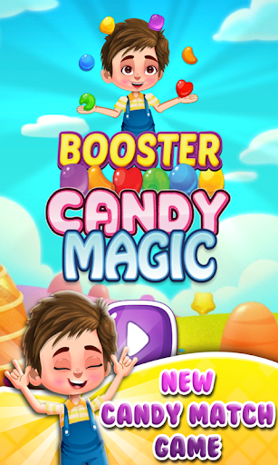 Booster Candy Magic - Candy Jelly Crush Soda Mania  captures d'écran 1