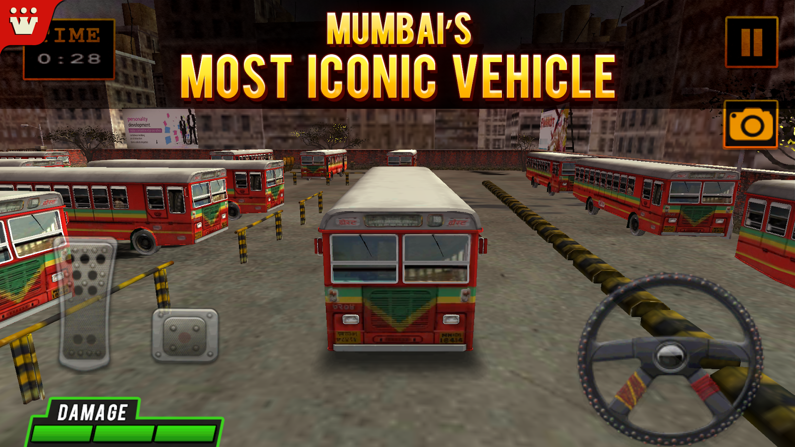 BEST Bus 3D Parking- screenshot