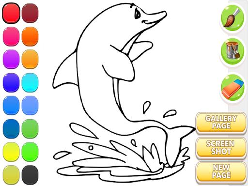 海豚圖畫書