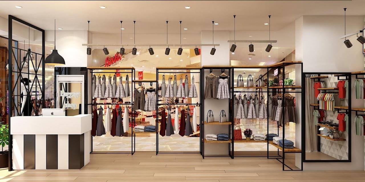 Thiết kế shop thời trang hiện đại trẻ trung
