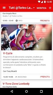 Virgin Active Italia- miniatura screenshot