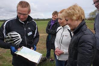 Photo: Chef for Natur & Miljø, Claus Nickelsen, rådmand Laura Hay og klima- og miljøminister Lykke Friis i Fløjstrup