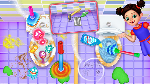 Messy High School Cleaning: Girl Room Cleanup Game filehippodl screenshot 21