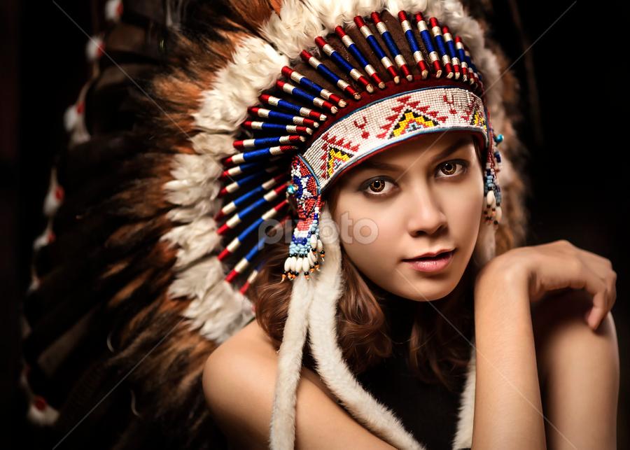 little indian by Ivan Lee - People Portraits of Women ( canon, model, girl, indian, beauty,  )