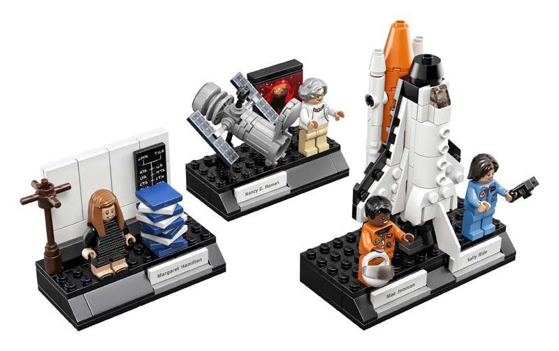 Contenido de Lego® 21312 Mujeres de la Nasa