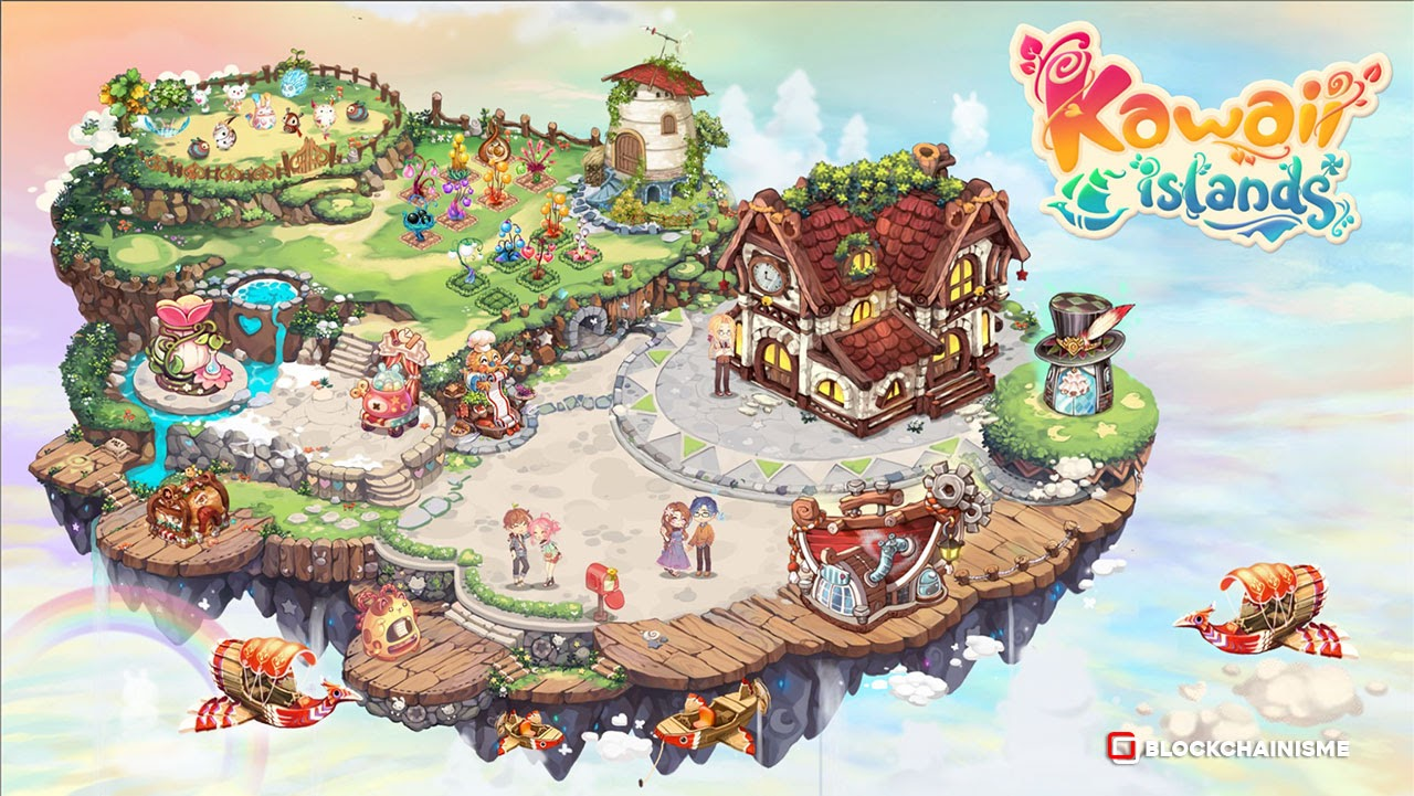 Kawaii Island Siap Luncurkan Game NFT Anime Play-to-Earn Metaverse Bulan September 2021