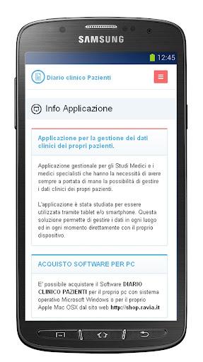 Diario Clinico Pazienti Smart