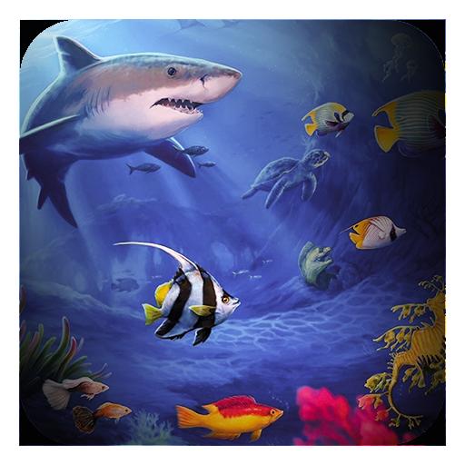リトルかわいい魚のテーマ 娛樂 LOGO-玩APPs