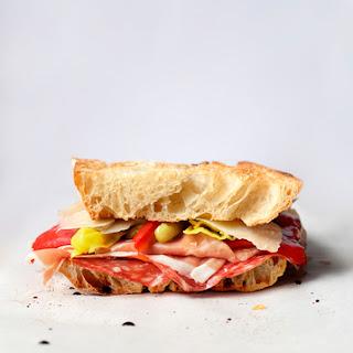Antipasti Sandwich.