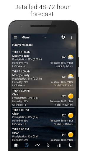 Sense Flip Clock & Weather 5.77.0.2 screenshots 7