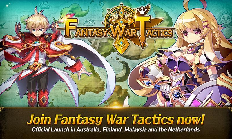 android Fantasy War Tactics Screenshot 0