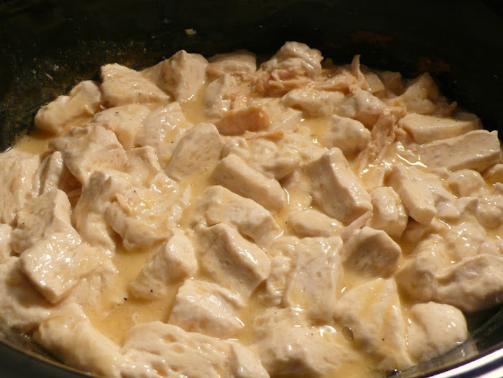Easy Peasy Slow Cooker Chicken and Dumplings Recipe | Yummly