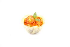 Tartaleta de tomates secos