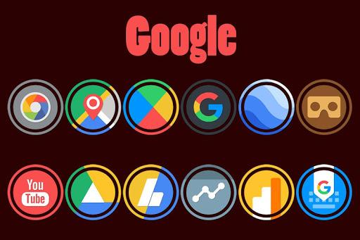 Pixel Ring - Icon Pack  screenshots 1
