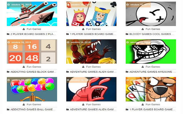 Puzzle Games - HTML5