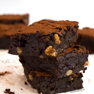 Ultimate Vegan Gluten Free Brownie.