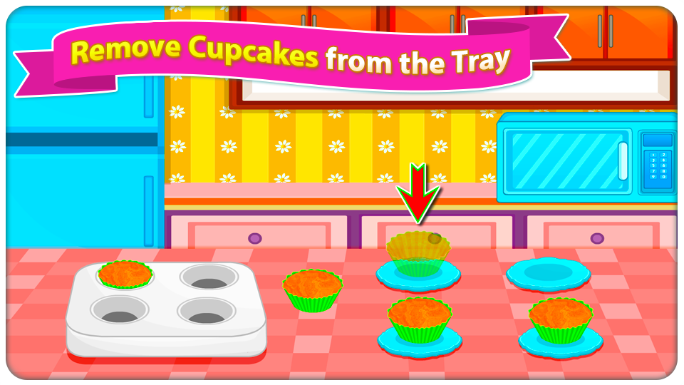 Cupcake Mania - Cooking Game- screenshot