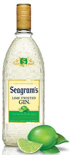 Logo for Seagram's Twisted Lime Gin