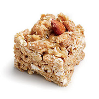 Peanut-Almond Snack Bars