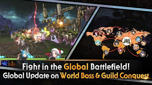 Screenshot 1 King's Raid 3.26.0 APK MOD