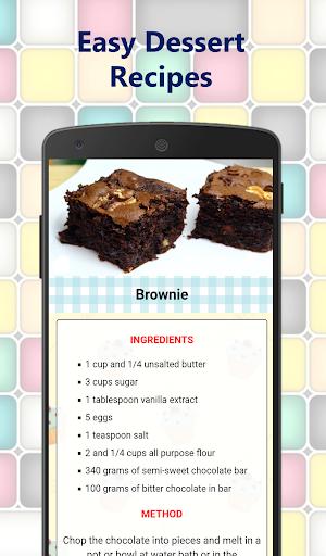 Foto do Easy Dessert Recipes for free – Cake homemade