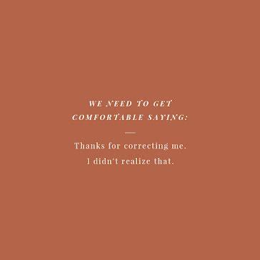 Get Comfortable Saying - Instagram Post template