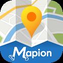 地図マピオン-駐車場検索&マップコード完全対応 icon