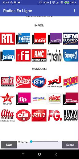 radios en ligne screenshot 1