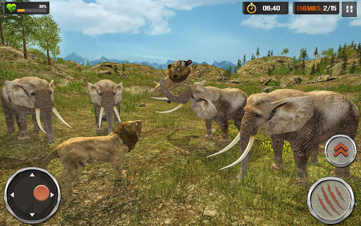 The Lion Simulator - Wildlife Animal Hunting Game modavailable screenshots 17
