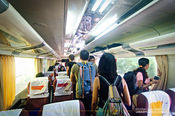 Executive Train Jakarta to Bandung