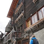 Zermatt Oldtown in Zermatt, Valais, Switzerland