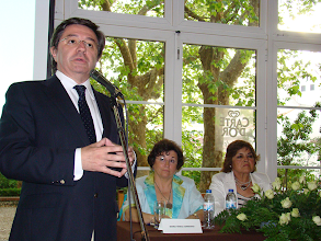 Photo: Paulo Teixeira de Morais incentivou a candidata a lutar pela transparência