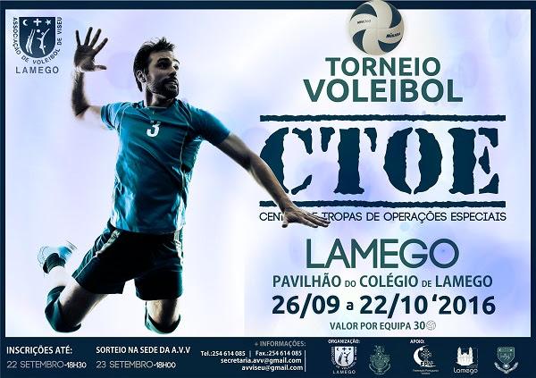 Torneio de Voleibol - CTOE - Lamego - 2016