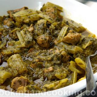 Khoresh Karafs, Persian celery stew