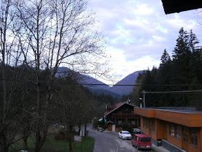 Photo: sobota rano, z okna kwatery