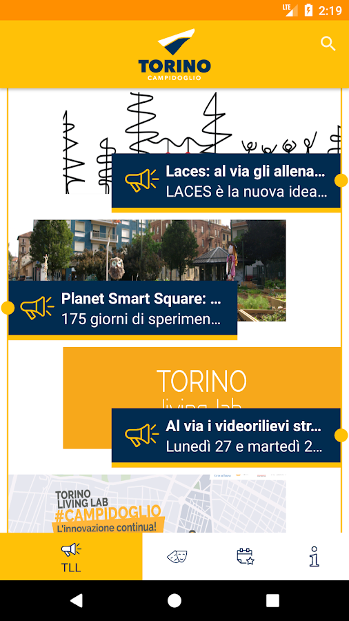 Torino Living Lab- screenshot