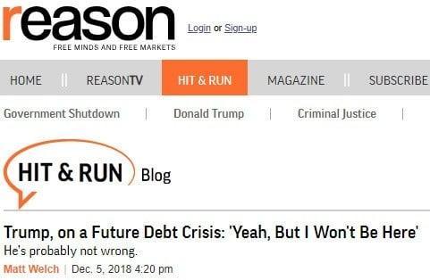 Trump - crise dette