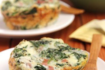 Ham Spinach Quiches