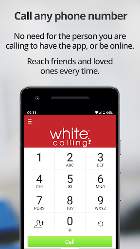 White Calling – international calls / call abroad - screenshot