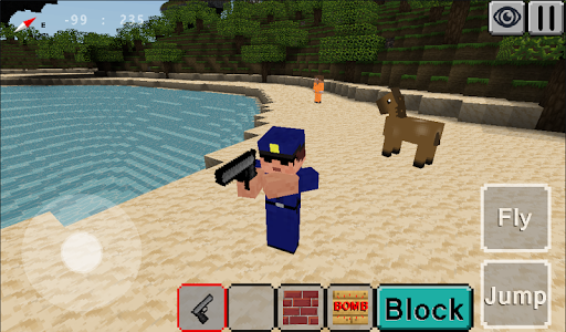 Jailbreak Craft : Cops and Robbers for PC