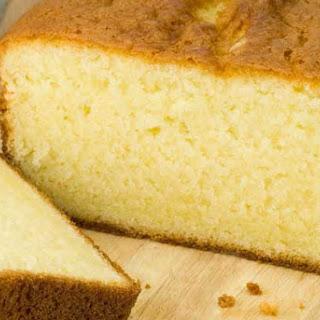 Gluten Free Pound Cake.
