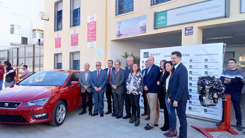 Seat León donado por Navarro Segura S.L.
