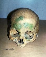 Photo: Tengkorak Homo Sapiens, hidup 40000 - 25000 tahun yang lalu yang mendiami Indonesia. Koleksi Museum Mulawarman, Tenggarong, Kalimantan Timur. http://nurkasim49.blogspot.fr